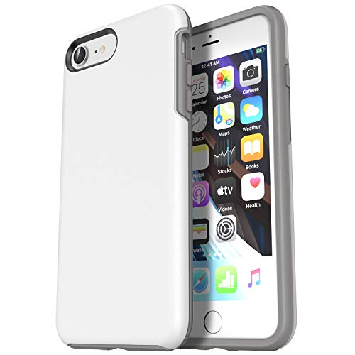 Krichit iPhone se case, Ongoing Series iPhone se 2020 case and iPhone 7 case iPhone 8 case, Anti-Drop Shock-Absorbing case (iPhone 7/8/SE 2020, White)