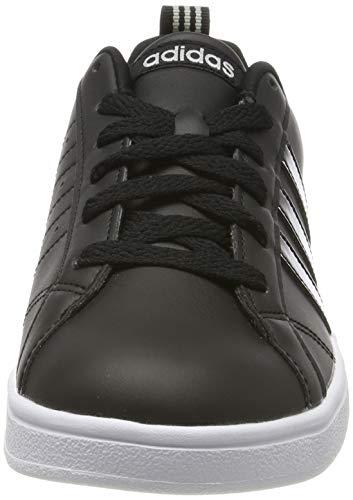 adidas Vs Advantage Zapatillas de Tenis Mujer, Negro (Core Black/Core Black/Grey Two F17 Core Black/Core Black/Grey Two F17), 35.5 EU