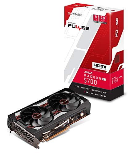 SAPPHIRE Pulse Radeon RX 5700 8G GDDR6 HDMI/ Triple DP OC W/BP (Uefi)