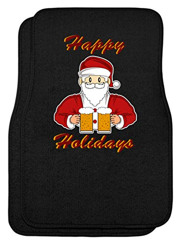 SPIRITSHIRTSHOP Happy Holidays - Sinterklaas, Kerstmis, feesten, bier, drinken, winkelen - automatten