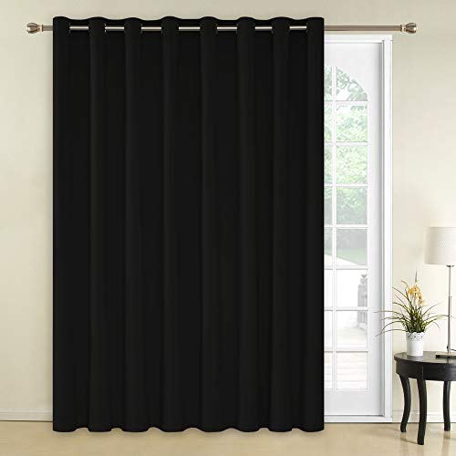 Deconovo Blackout Curtains 1 Panel Wide Width...