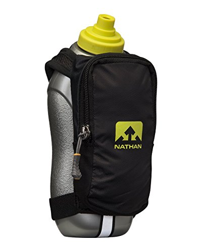 Nathan SpeedDraw Plus Flask, Black, One Size