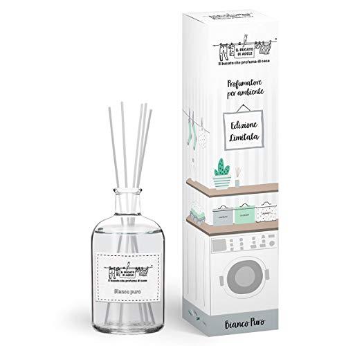 Il Bucato di Adele Profumatore per Ambiente Bianco Puro con Stick 200 ml