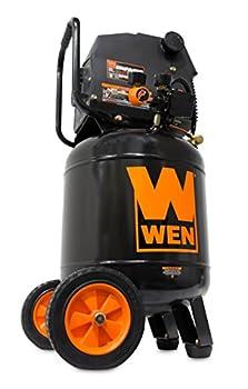 WEN 2289 10-Gallon Oil-Free Vertical Air Compressor 150 PSI