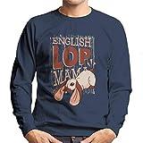 Cloud City 7 English Lop Mama Men's Sweatshirt