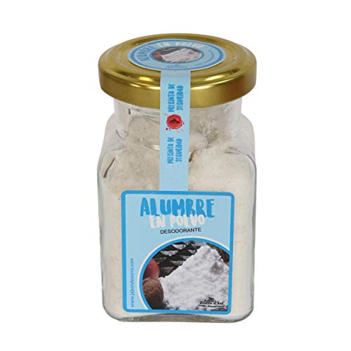 Jabón Zorro D'Avi Desodorante Piedra de alumbre en Polvo para Pies -150 ml