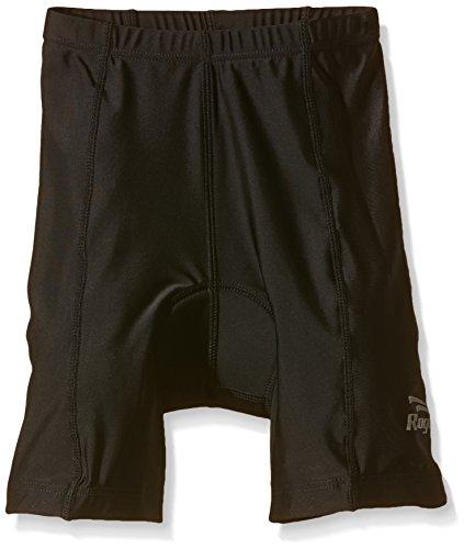 Rogelli - Pantaloni da Bicicletta Ragazzo, Corti, Nero (Nero), 140