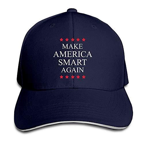 Make America Smart Again Adjustable Baseball Hat Dad Hats Trucker Hat Sandwich Visor Cap