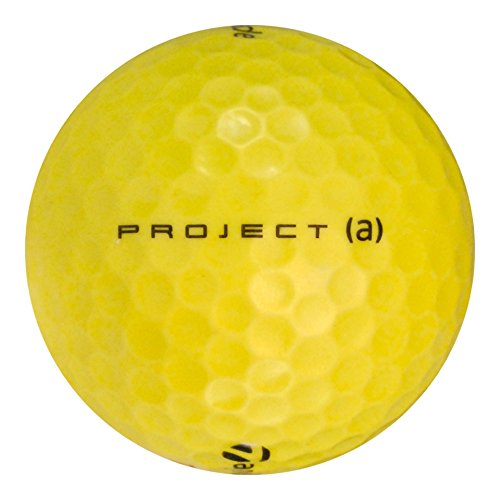 Sale!! TaylorMade 84 Project (a) Yellow - Mint (AAAAA) Grade - Recycled (Used) Golf Balls