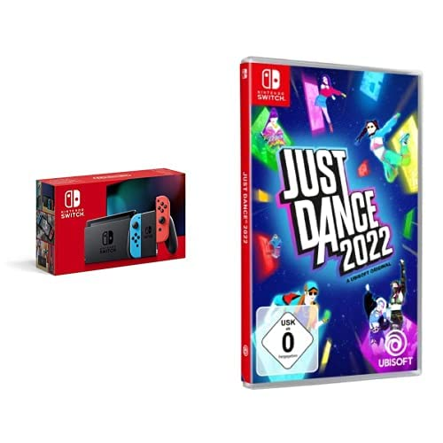 Nintendo Switch Konsole - Neon-Rot/Neon-Blau + Just Dance 2022 - [Nintendo Switch]