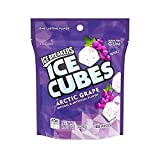 Ice Breakers Ice Cubes Gum, Arctic Grape, Sugar Free with Xylitol, 100 pieces, 8.11 Ounce (1 Bag) from Hershey's