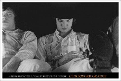Clockwork Orange/Milk Bar Poster Drucken (91,44 x 60,96 cm)