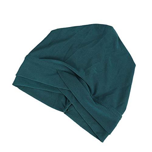 HEALLILY noeud tête turban wrap croix CAPS décoratif turban tordu chapeau indien plissé pour adultes