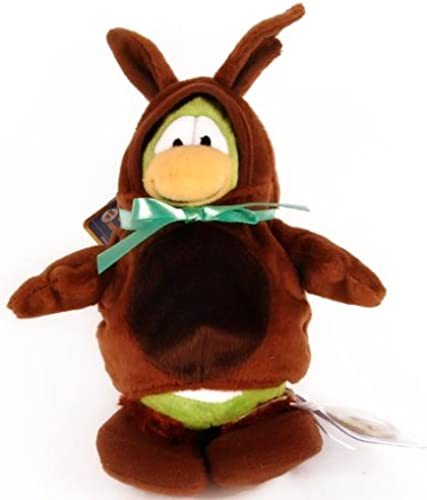 Disney Club Penguin Series 7 Bunny Costume With Gold Coin