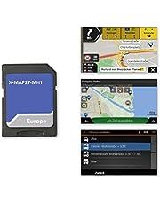 Xzent X-MAP27-MH1: Micro SD-kaart met camper navigatie voor XZENT X-427 en X-F270, kaarten voor Europa, Camping P.O.I. pakket, 1 jaar gratis kaartupdates