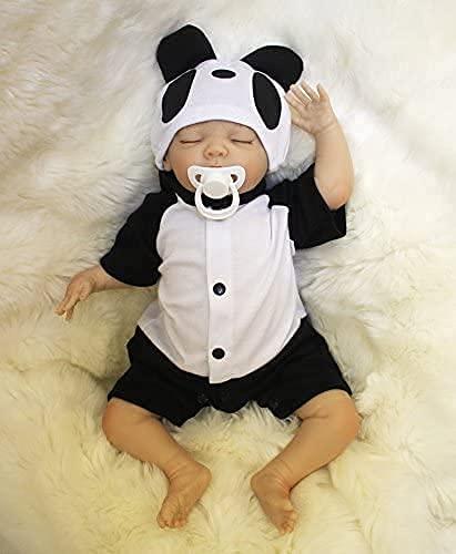 ZIYIUI Muñeca Reborn Bebe Niña 20 Pulgadas 50 cm Realista Suave Silicona Vinilo Niño Muñeca Hecho a Mano Muñeca Recién Nacido Muñeca Baratos Regalo de cumpleaños