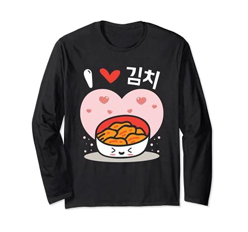 Me encanta el Kimchi, comida callejera coreana, sabor a Manga Larga