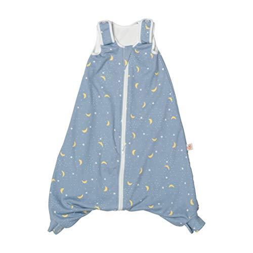 Ergobaby ganzjahres Baby-Schlafsack mit Füßen Gurtschlitz 6-18 Monate Baumwolle Tog 1 Sommer Winter, On The Move Stellar