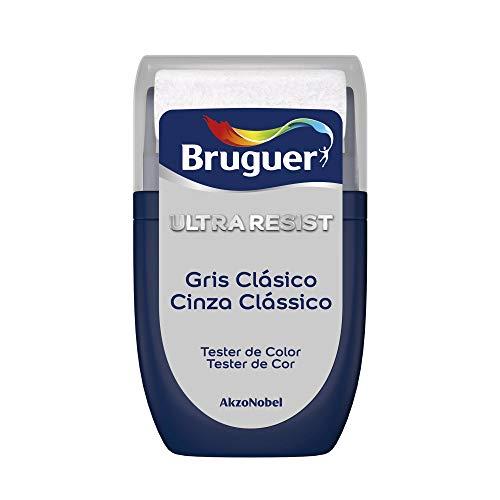 Bruguer Tester ULTRA RESIST Pintura para paredes ultra lavable Gris Clásico, 0.030 litros