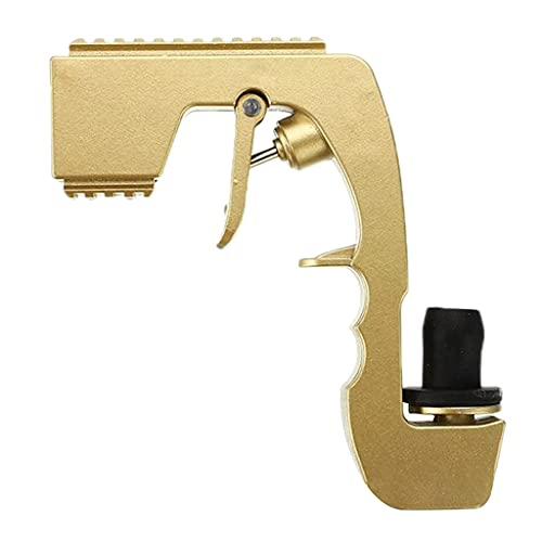 Fenteer Champagner Pistole Wein Dispenser Bier Flirt Gun kompatibel mit jedem 750mL Champagner Flasche - Golden
