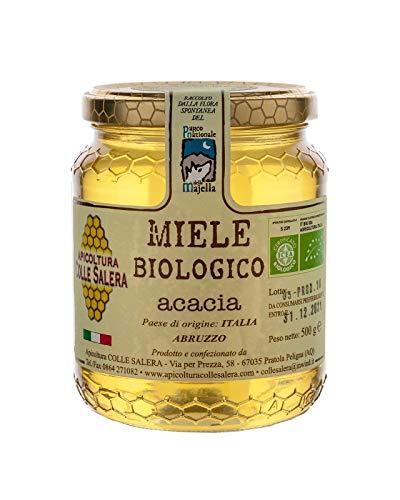 Miele biologico di Acacia - Italiano non Pastorizzato | Apicoltura Colle Salera … (1 kg)