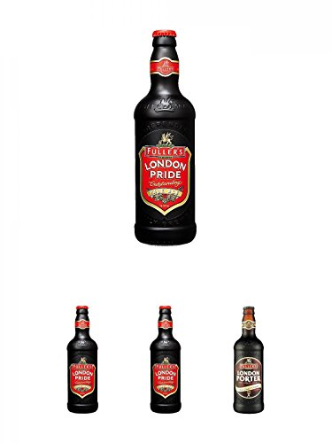 Fuller`s London Pride Bier 0,5 Liter + Fuller`s London Pride Bier 0,5 Liter + Fuller`s London Pride Bier 0,5 Liter + Fuller`s London Porter Bier 0,5 Liter