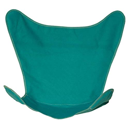 Coastal Casual Designs Butterfly Chair Replacement Covers Heavy Duty 14oz Cotton Duck Material Indoor/Outdoor - Teal