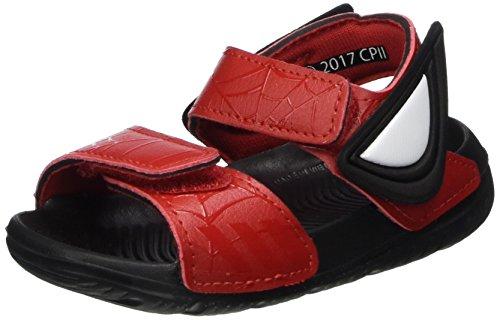 adidas Spider-Man Altaswim, Sandales Bout Ouvert Garçon, Rouge (Scarlet/Scarlet/Core Black), 19 EU