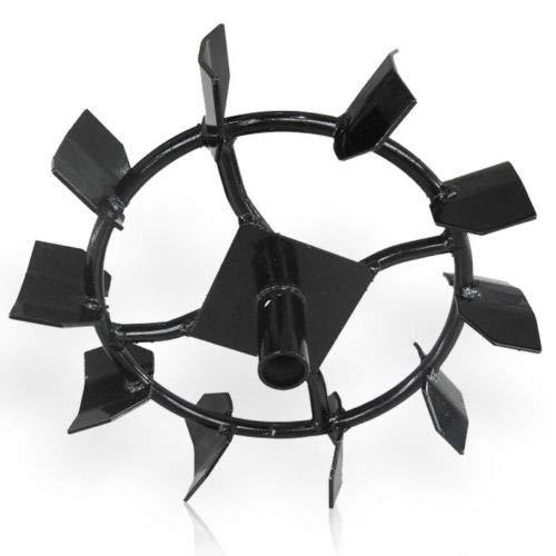 Hecht Schaufelradsatz 000750 für Hecht 750 Motorhacke (Eisenradset zum Pflügen)