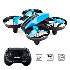 Beginners Real Experience: small and very light makes it not harmful to anything around you in the house and easy to take with you anywhere. Flying is not loud at all and very stable. Remote control can be fine tuned to balance out the mechanics. Sup...