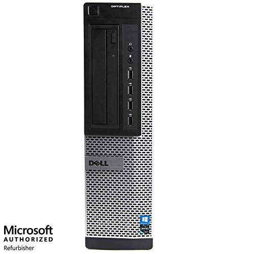 Dell Optiplex 9010 Desktop Computer PC - Intel Quad Core i5 3.2-GHz, 16GB RAM, 1 TB HDD, DVD Drive, HDMI, WiFi, Keyboard, Mouse, Windows 10 Professional (Renewed)
