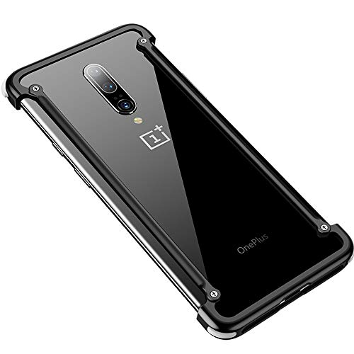 ELOHEI Compatible with OnePlus 7 Pro Case,Metal Bumper Cases Cover for Oneplus 7 Pro (2019)