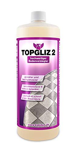 KABITEC TOPGLIZ 2 hochwertige Bodenversiegelung, 1000 ml │ Fussbodenversiegelung Bodenbeschichtung