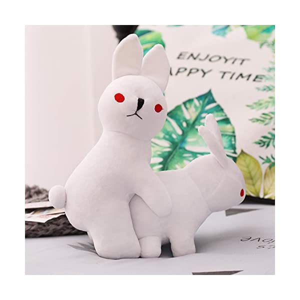 Peluches Rogue Rabbit Stuffed Animal Doll, Peluches Graciosos Conejos, Animal Soft Doll Boy Regalo Decoración para el… 1