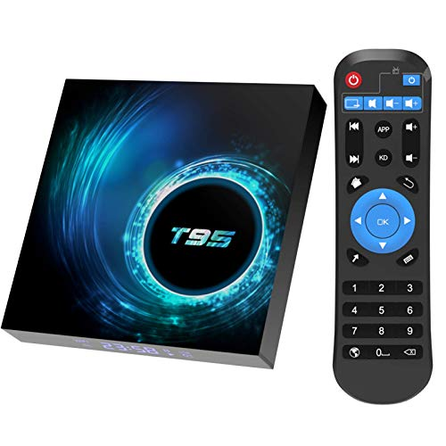 TV Box, 2GB RAM / 16 GB ROM Android 10.0 TV Box, Allwinner H616 Quad-Core con 2.4GHz WiFi / Ethernet TV Box