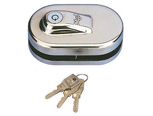 Sag Seguridad. S.L. - Cerradura puerta cristal 2 hojas lbm-s