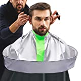 Professional Hair Cutting Cape Salon Barber Cape Waterproof Haircut Umbrella Catcher Hairdresser Gown Apron Men and Women Hairdressing Supplies
