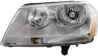 Headlight Assembly Compatible with 2008-2014 Dodge Avenger Halogen SE/SXT Models Driver Side