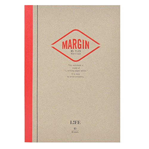 ライフ ノート MARGIN A5 赤 N711