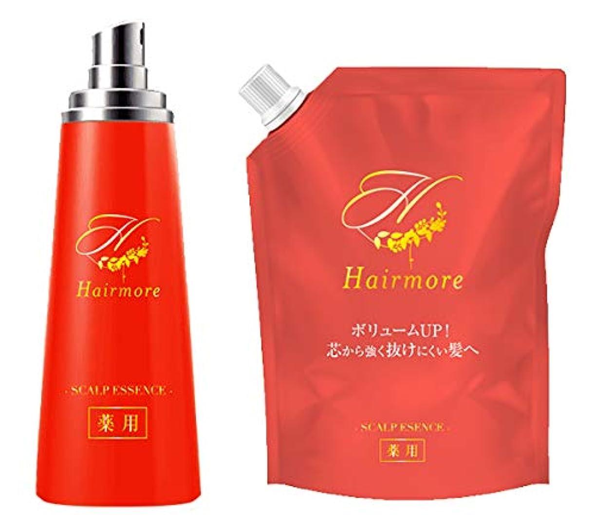 さわやかうがい寄付するヘアモア Hairmore スカルプケアエッセンス エストラジオール配合 育毛剤 【医薬部外品】【2個セット】