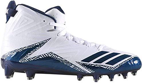 adidas Freak X Carbon Mid Cleat Men's Football 12.5 White-Collegiate Navy-Collegiate Navy