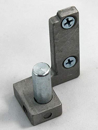 Ersatzteil/Bauteil für Bandsägemaschinen, Montagewinkel Set für Dreirollenführung, für unten & oben geeignet, geeignet für Metabo BAS 260 Swift, wird benötigt zur Montage der Dreirollenführung