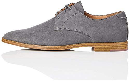 find. Angus Zapatos de Cordones Derby, Gris Oscuro, 42 EU