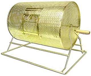 Large Brass Raffle Drum - Holds10,000 Tickets