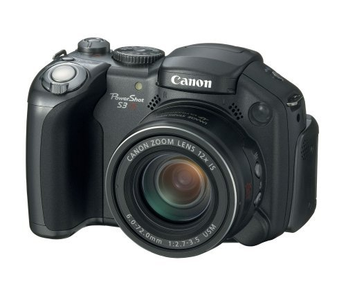 Canon PowerShot S3 is Digitalkamera (6 Megapixel, 12fach Zoom)