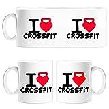 Diver Tazas Taza I Love Crossfit - Cerámica