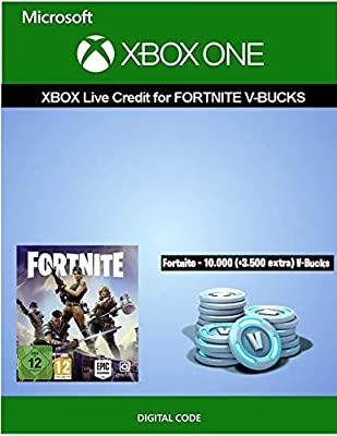 Xbox Live credit for Fortnite - 10.000 V-Bucks + 3.000 extra V-Bucks | Xbox One - Download Code