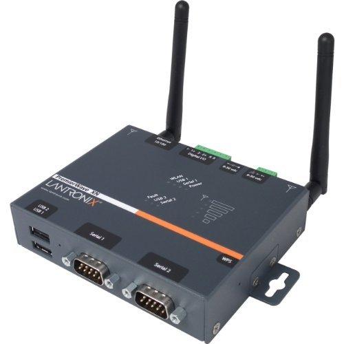 Lantronix PXN210002-01U PremierWave XN Device Server 4 Port 10Mb/100Mb LAN, RS-232, USB 2.0, 802.11 b/a/g/n