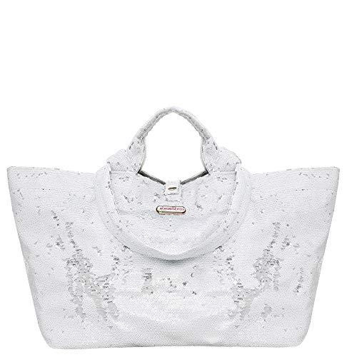 brasi&brasi Tasche Half&Fancy weiß/Silber NEU!!