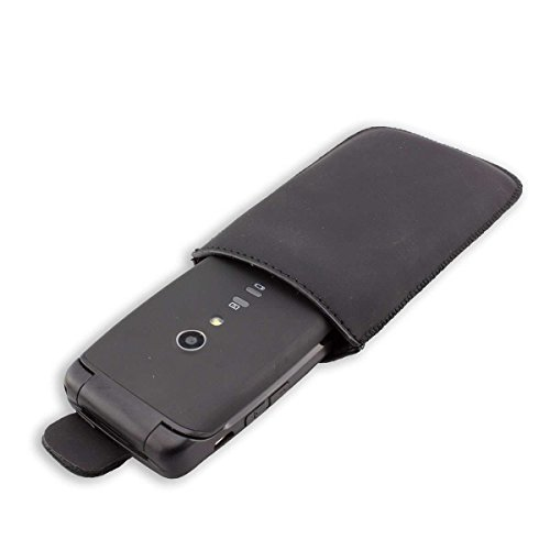 caseroxx Slide-Etui für Doro Primo 405 / Primo 406, Tasche (Slide-Etui in schwarz)